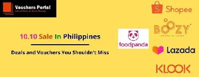 10.10 Sale In Philippines: Deals and Vouchers You Shouldn't Miss