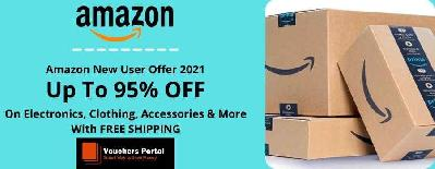 Amazon New User Offer 2021: Free Amazon Prime Trial + Up To 95% Discount