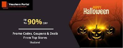 Halloween Sale In Thailand: Promo Codes, Coupons & Deals From Top Stores