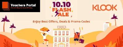 Klook 10.10 Sale Singapore: Offers, Deals And Promo Codes