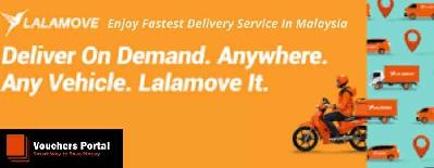 Lalamove Malaysia Fastest Delivery Service: Vouchers, Coupons & Deals