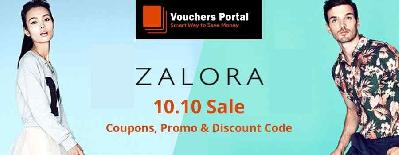 ZALORA 10.10 SALE: Coupons, Promo and Discount code